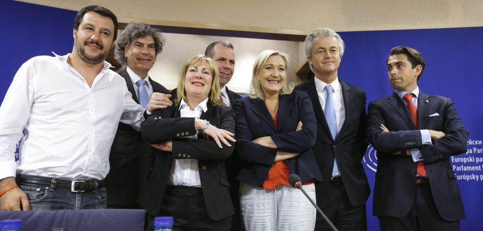 Die Parteichefs der neuen Rechtsfraktion