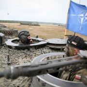 Polnische Nato-Soldaten: Foto: dpa