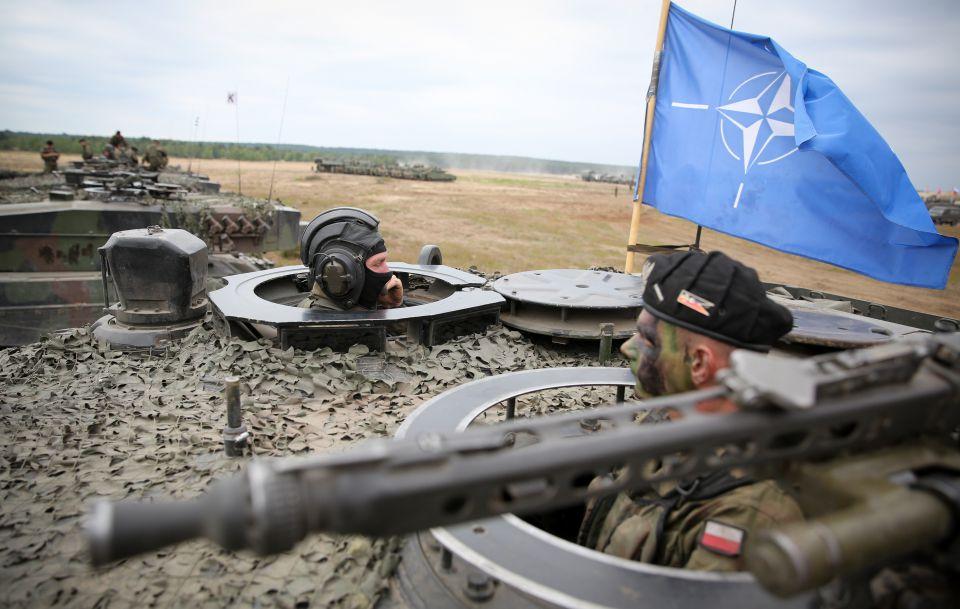 Polnische Nato-Soldaten