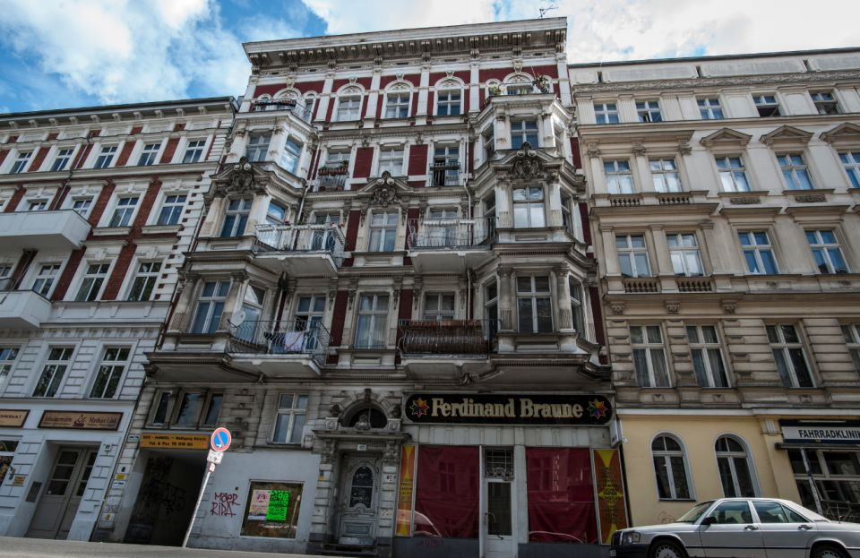 Zigeunerhaus in Berlin: