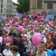 """""""Demo für alle"""" in Stuttgart gegen Homo-Ehe und Gender-Ideologie Foto: JF"""