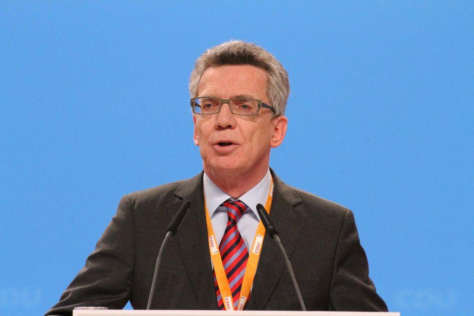 Thomas de Maizière (2014)
