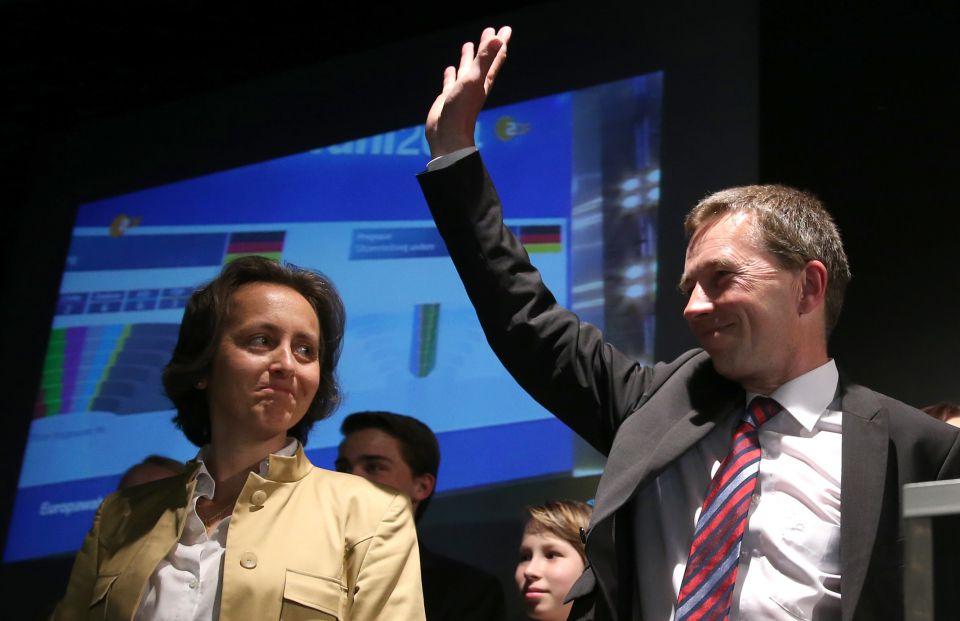 Beatrix von Storch (l) und Bernd Lucke (Mai 2014)