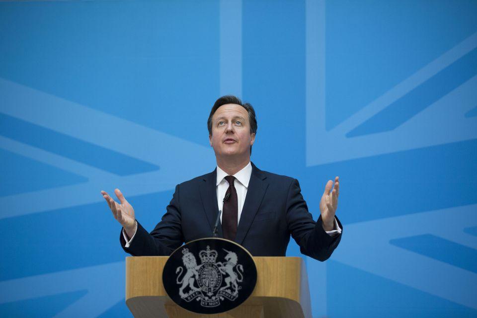 Der britische Premierminister avid Cameron