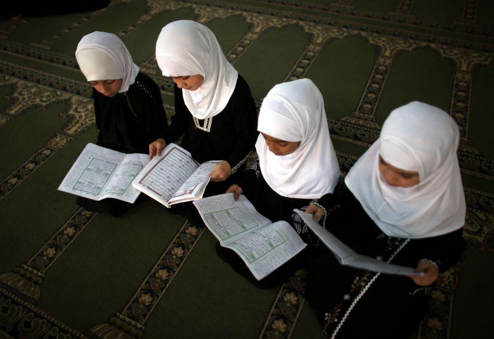 Moslemische Kinder