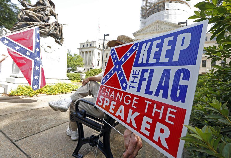 Kampagne für die Südstaatenfahne
