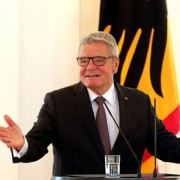 Bundespräsident Joachim Gauck Foto: picture alliance/dpa