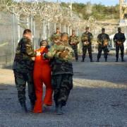 Häftling im Gefangenenlager Guantánamo Foto: picture-alliance / dpa
