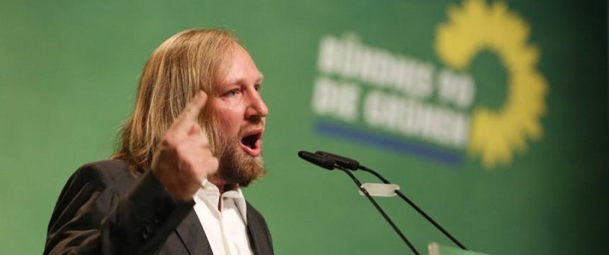 Anton Hofreiter: Der Grünen-Fraktionschef hält Klagen über die Asylwelle für unangemessen Foto: picture alliance/dpa