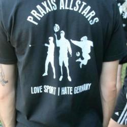 Auch Linke trugen antideutsche Hemden