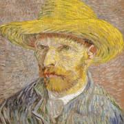 Vincent van Goch: Selbstporträt von 1887 Foto: Wikimedia; Lizenz: gemeinfrei