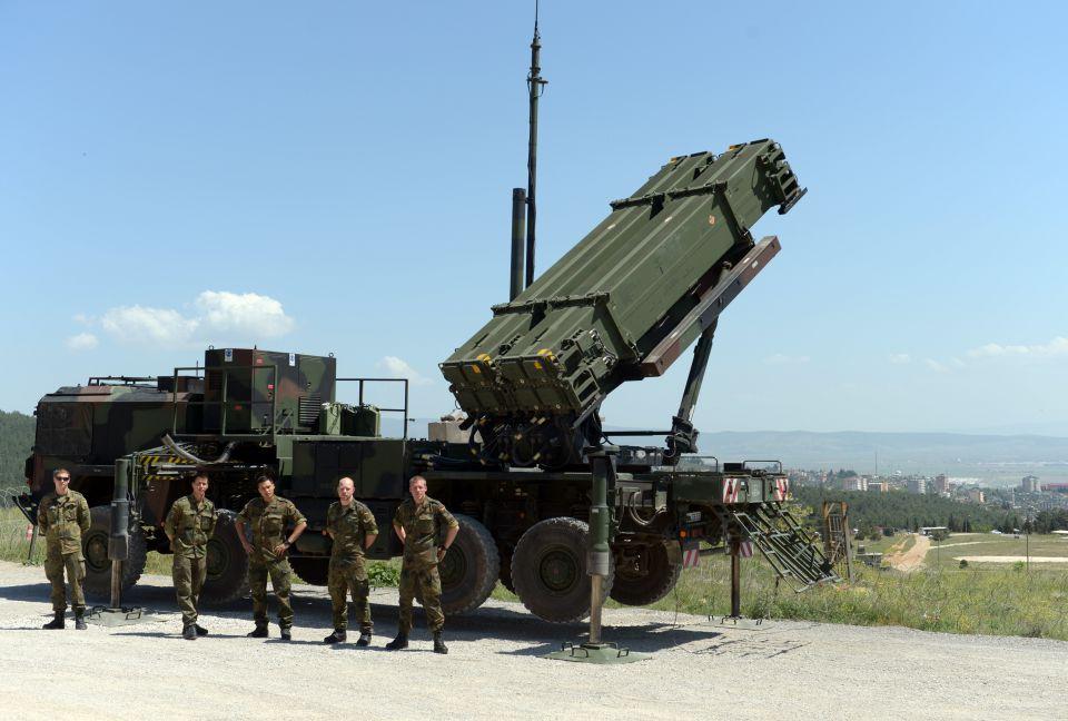 Patriot-Luftabwehrsystem