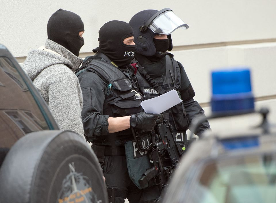Spezialeinsatzkommando (Symbolbild)
