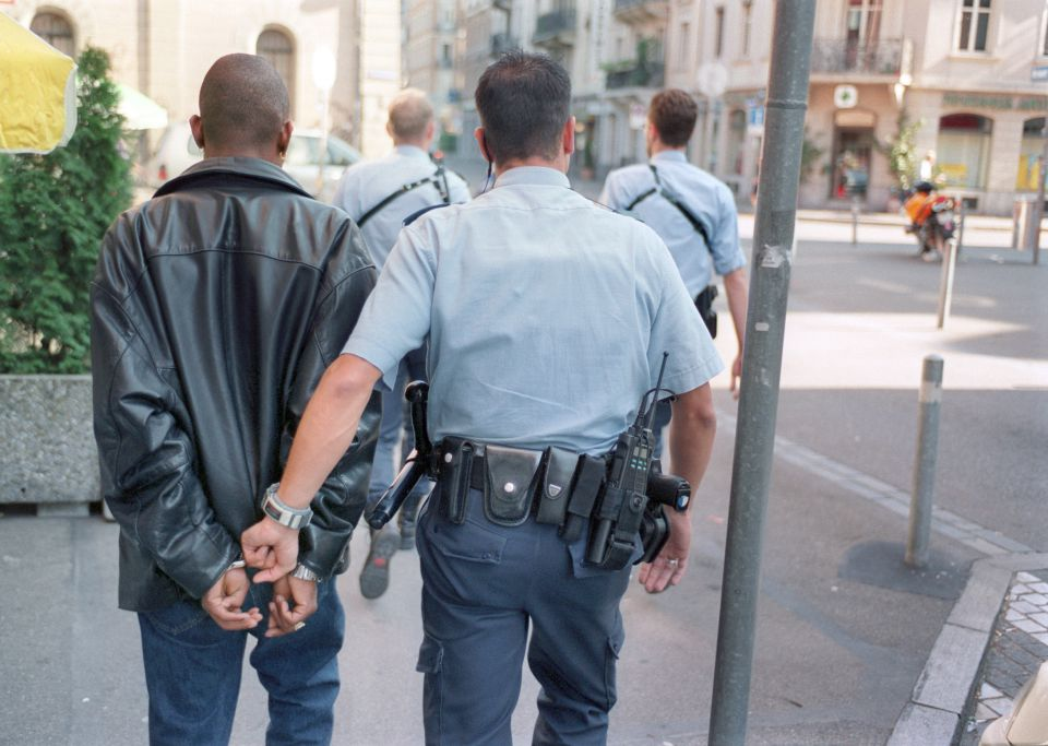 Züricher Polizei