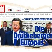 """""""Bild""""-Kampagne gegen europäische Staatschefs Foto: JF"""