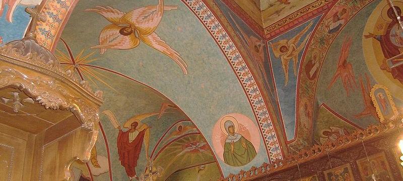 Fresken in Mor Elian: Vernichtet duch den IS Foto: Wikimedia / Zozo2kx