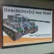 Plakatmotiv des Panzermuseums Munster: Empörung in Hannover Foto: Facebook