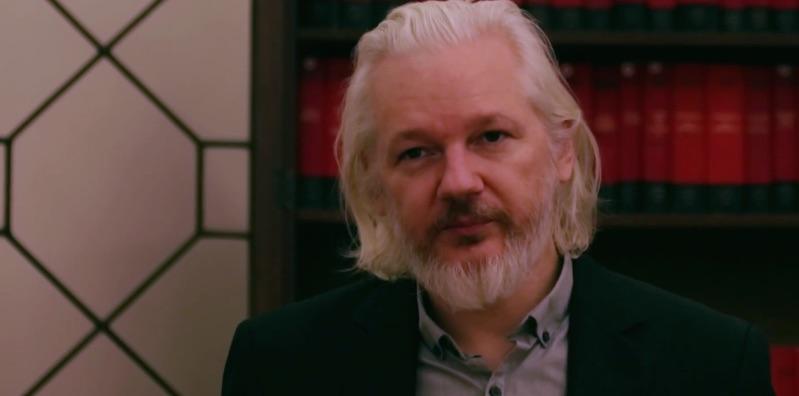 Julian Assange in der ecuadorianischen Botschaft Foto: Wikileaks
