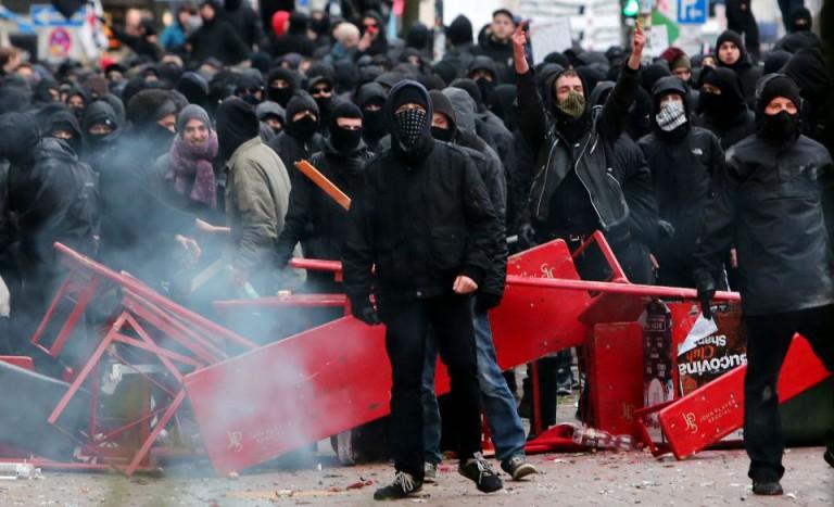 Linksextremisten in Hamburg (2013)