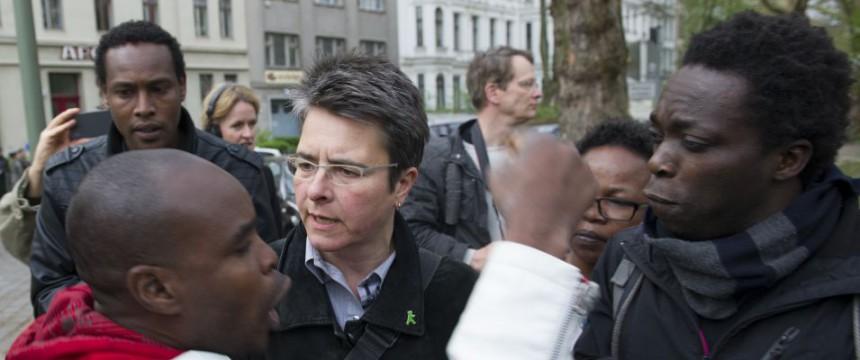Bezirksbürgermeisterin Herrmann (m): Edelquartier für Asylsuchende Foto: dpa