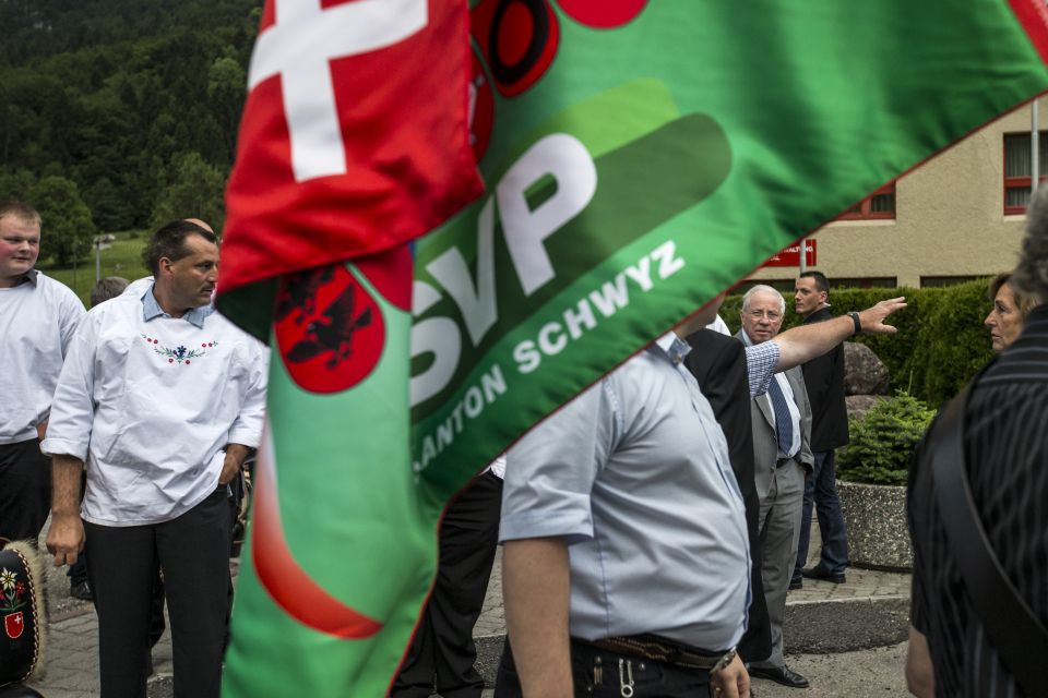 SVP-Flagge (Archiv)