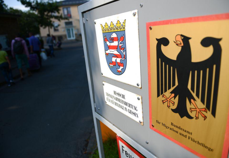 Erstaufnahmeeinrichtung in Gießen