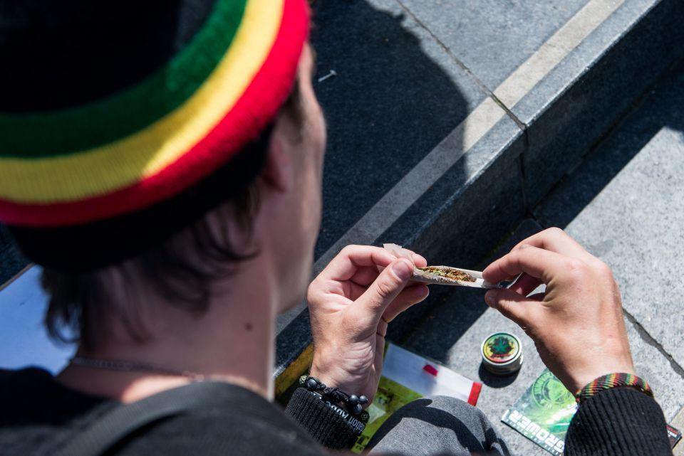 Cannabis-Konsument in Frankreich: