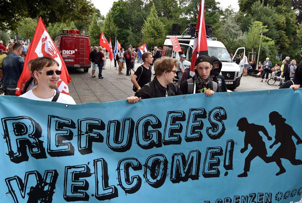 Demonstration in Frankfurt/Oder