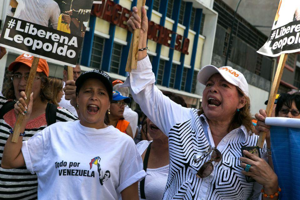 Proteste in Venezuela gegen Gerichtsurteil