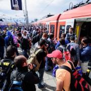 Asylsuchende in Bayern: Foto: dpa