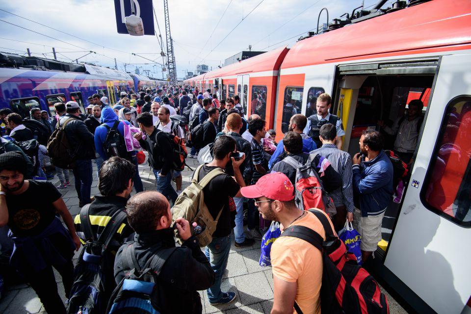 Asylsuchende in Bayern