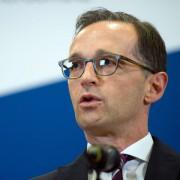 Justizminister Heiko Maas nach einem Gespräch mit Facebook Foto:  picture alliance / dpa