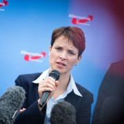 AfD-Chefin Frauke Petry Foto: picture alliance/dpa