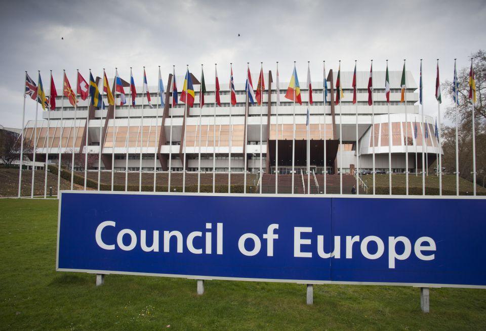 Gebäude des Europarates