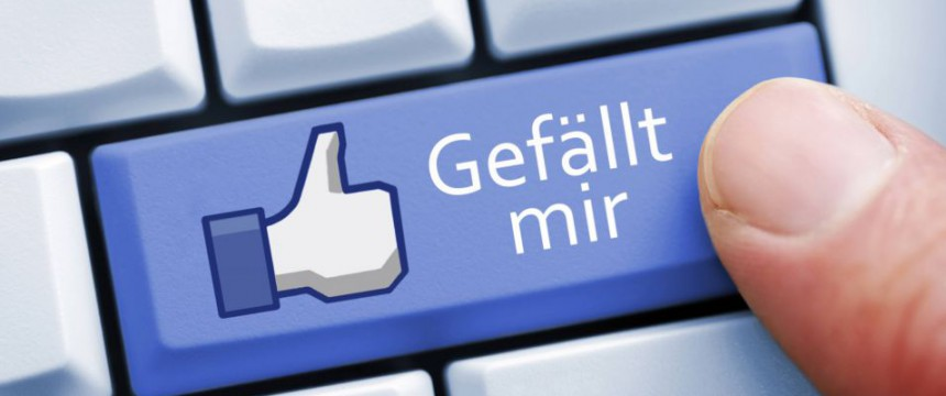 Gefällt-mir-Taste: Wir sagen Danke Foto:  picture alliance/blickwinkel
