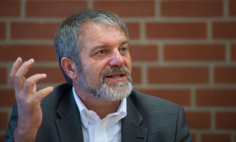 Bürgermeister Mädge (SPD)