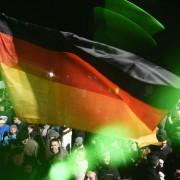 Pegida-Demonstration (Symbolbild): Zulauf reißt nicht ab Foto:  picture alliance/AP Photo