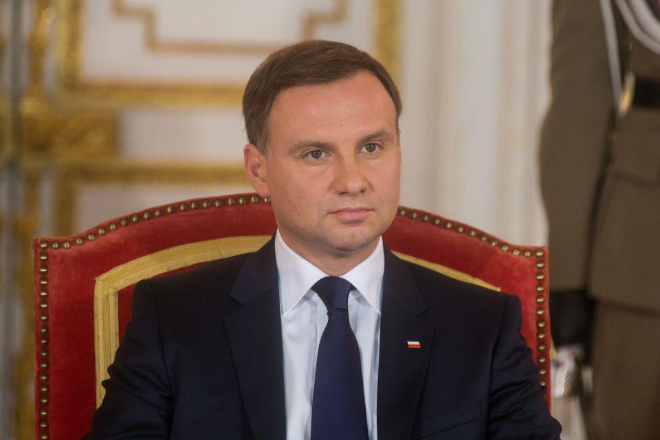 Staatspräsident Polens Andrzej Duda