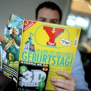 Yps feiert Geburtstag: Jubiläumsausgabe zum Vierzigsten Foto: picture alliance/dpa