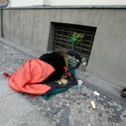 Obdachloser in Berlin: Deutlich steigende Zahlen erwartet Foto:  picture alliance/Ulrich Baumgarten