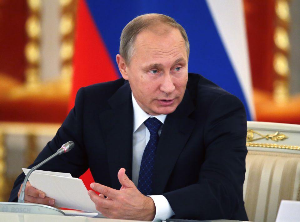 Rußlands Präsident Putin