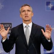 Nato-Generalsekretär Jens Stoltenberg: Kritik an Rußland Foto: dpa