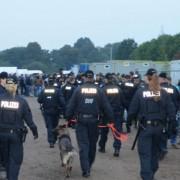 Polizei in Erstaufnahmeeinrichtung: Gewaltwelle reißt nicht ab Foto: dpa