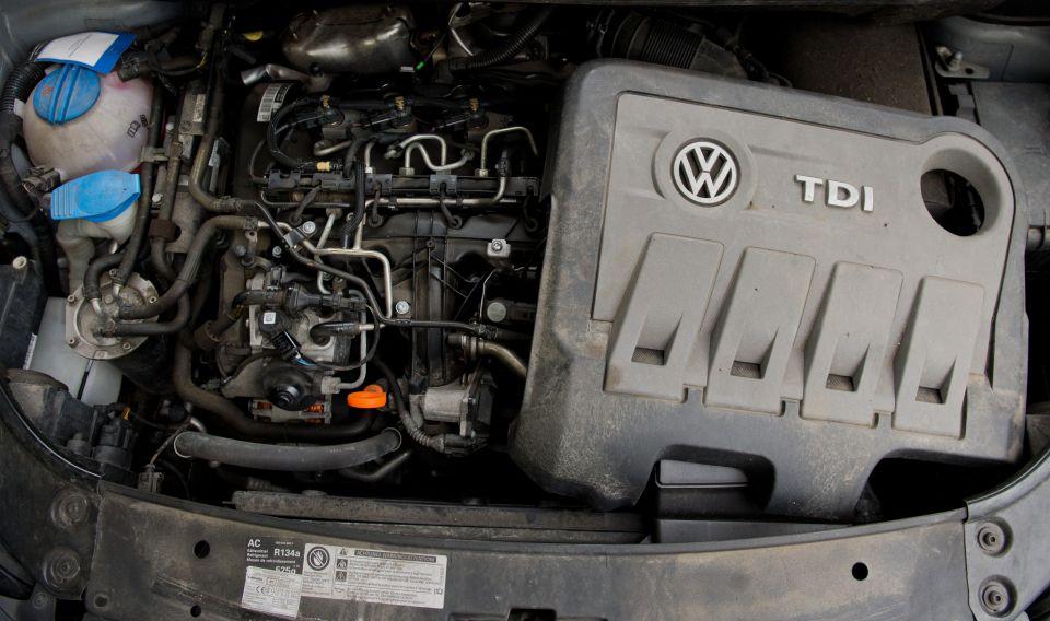 VW-Dieselmotor EA189