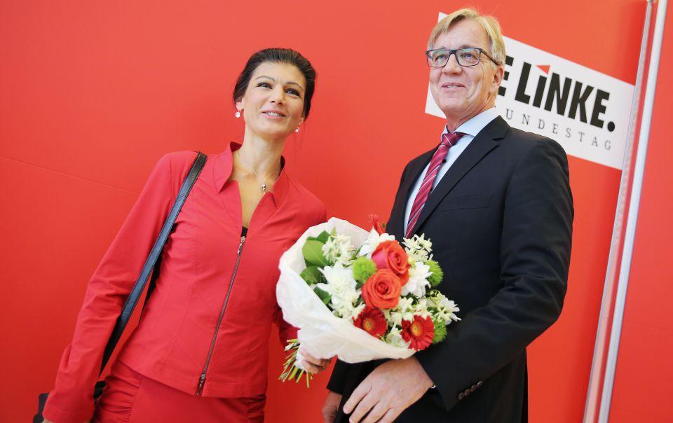 Sahra Wagenknecht und Diemtar Bartsch