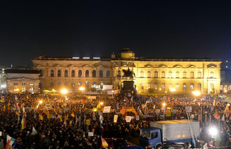 Pegida-Demonstration
