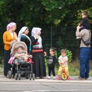 Asylbewerber in Berlin Foto: rg