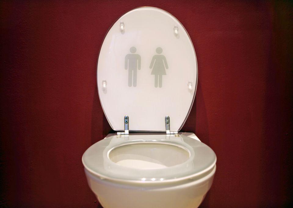 Unisex-Toilette
