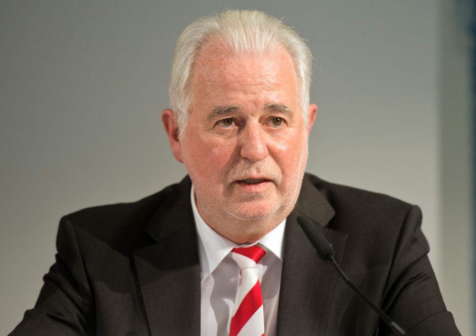 Jürgen Reinholz (2014)