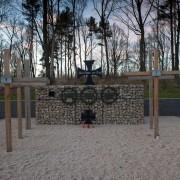 """Gedenkstätte im """"Wald der Erinnerung"""" Foto:  picture alliance / dpa"""